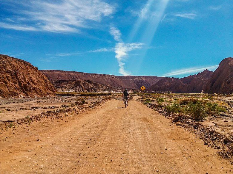 dicas para andar de bicicleta no Atacama
