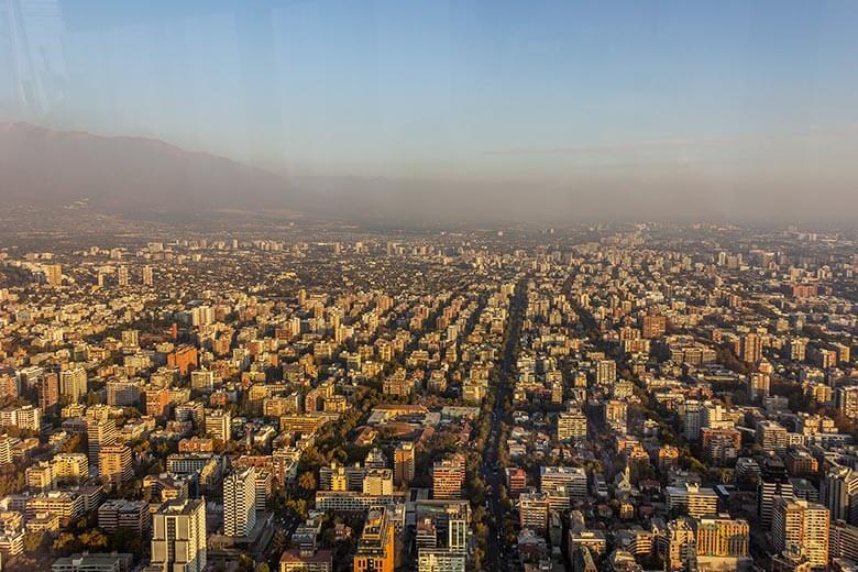 Sky Costanera em Santiago - dicas