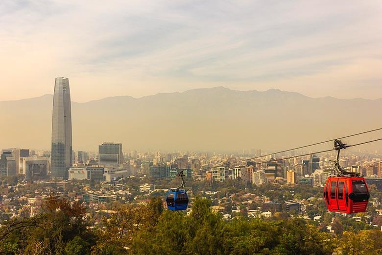 roteiro de viagem em Santiago