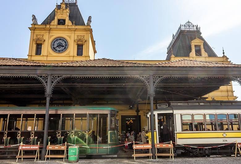 Bonde turístico de Santos - SP