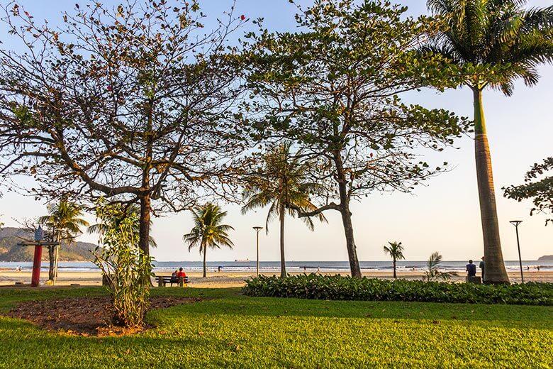 o que fazer nas praias de Santos