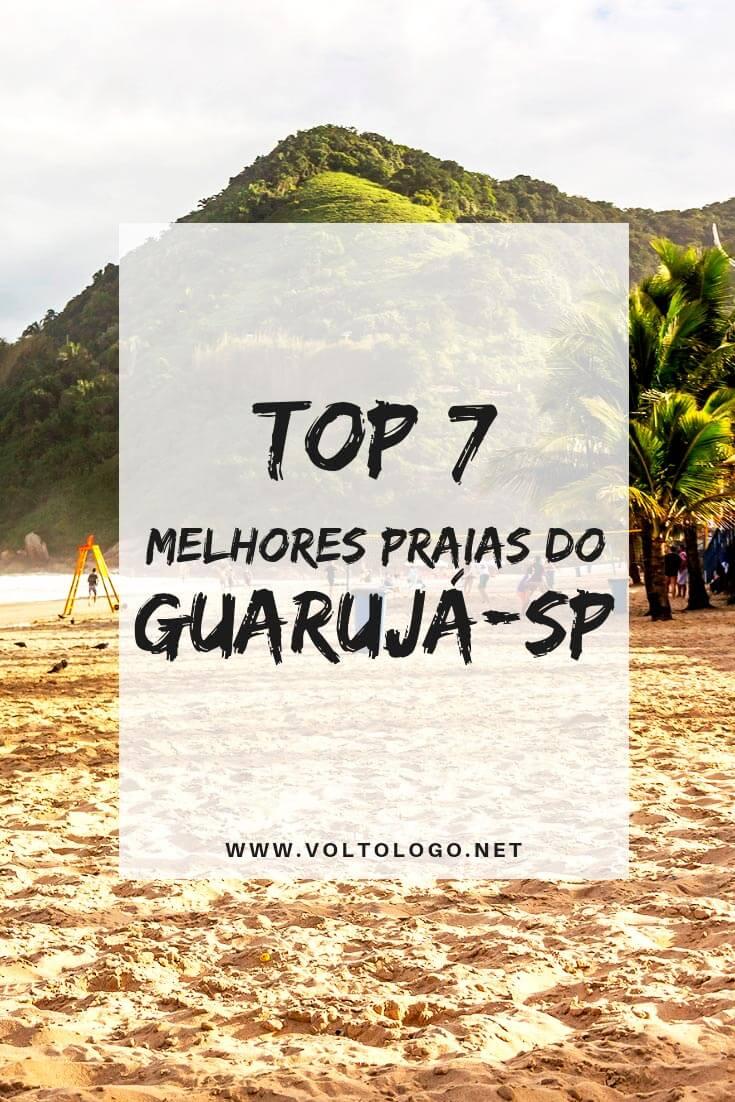 Praias do Guarujá, no litoral de São Paulo: Descubra quais são as melhores para você incluir no seu roteiro de viagem.