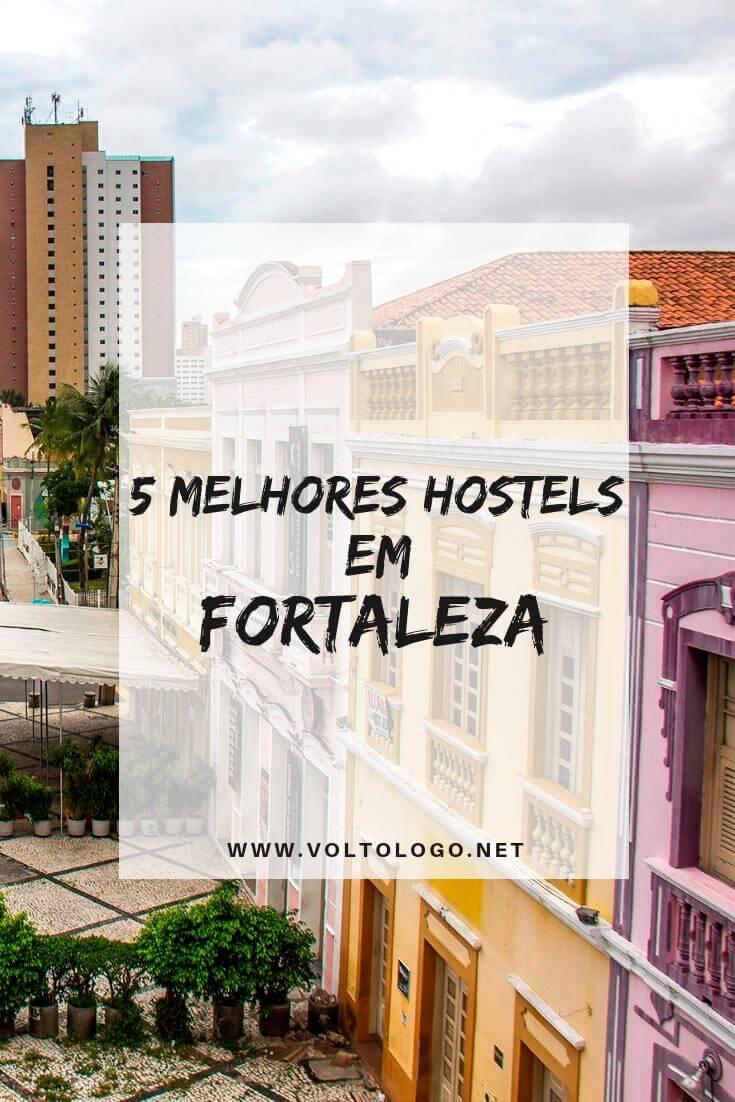 Melhores hostels em Fortaleza: Descubra quais são os albergues mais bem avaliados, e baratos, na capital do Ceará.