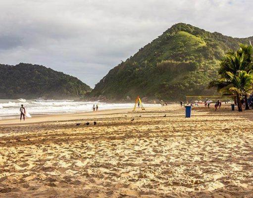 dicas das melhores praias do Guarujá