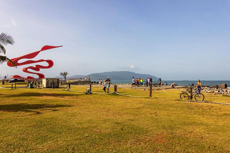 o que fazer na praia de Santos