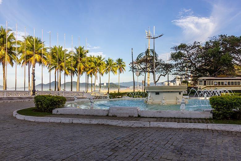 Praia do Gonzaga - Santos