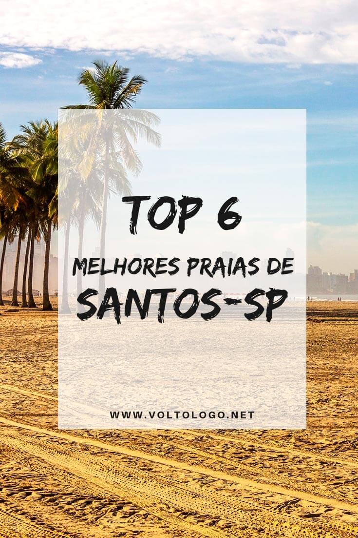 Praias de Santos, em São Paulo: Entenda como são as praias da cidade e o que há de diferente em cada uma delas.