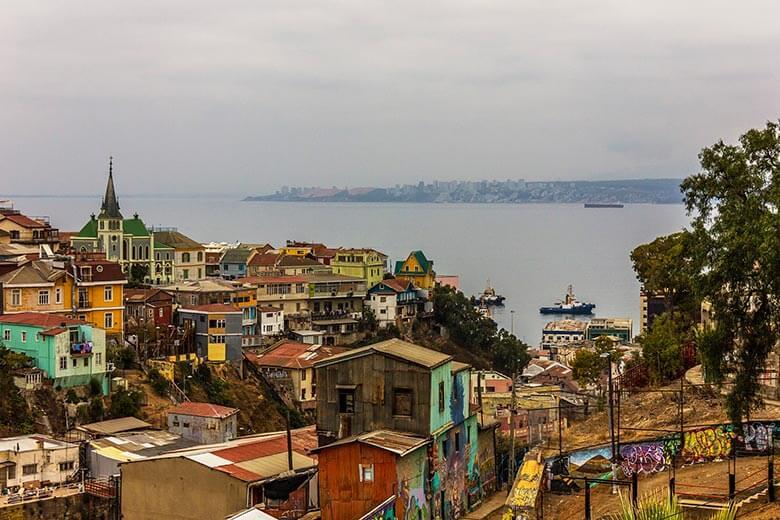 passeio de Santiago para Valparaíso e Viña del Mar