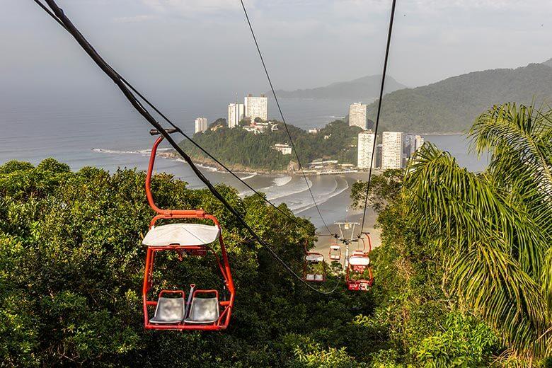 pontos turísticos em Santos