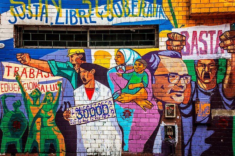 tour atreet art em Buenos Aires