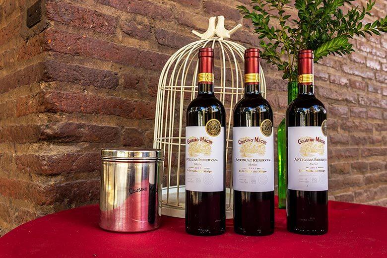 vinhos no Chile