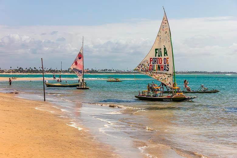praias perto de Recife