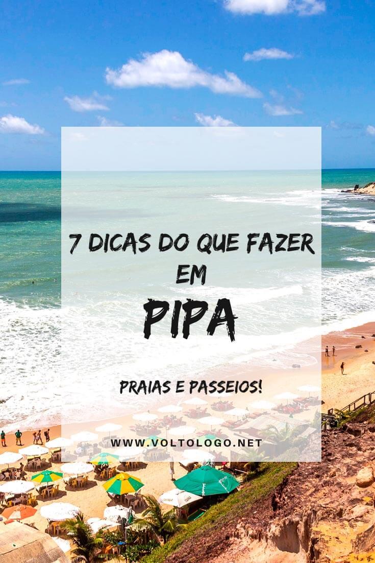 O que fazer em Pipa, no Rio Grande do Norte: Descubra agora quais são as melhores atrações, pontos turísticos, praias, passeios, mirantes e outros lugares para conhecer em Pipa.