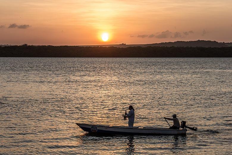 Pôr do sol na Praia do Jacaré - dicas