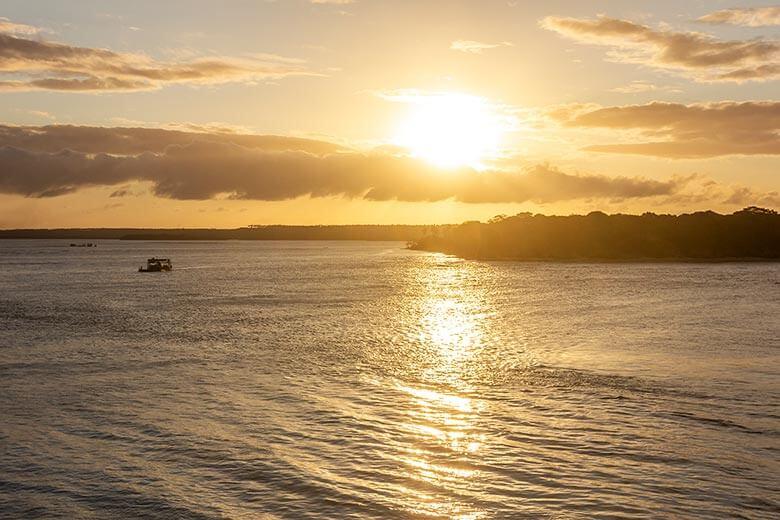 pôr do sol em Pipa