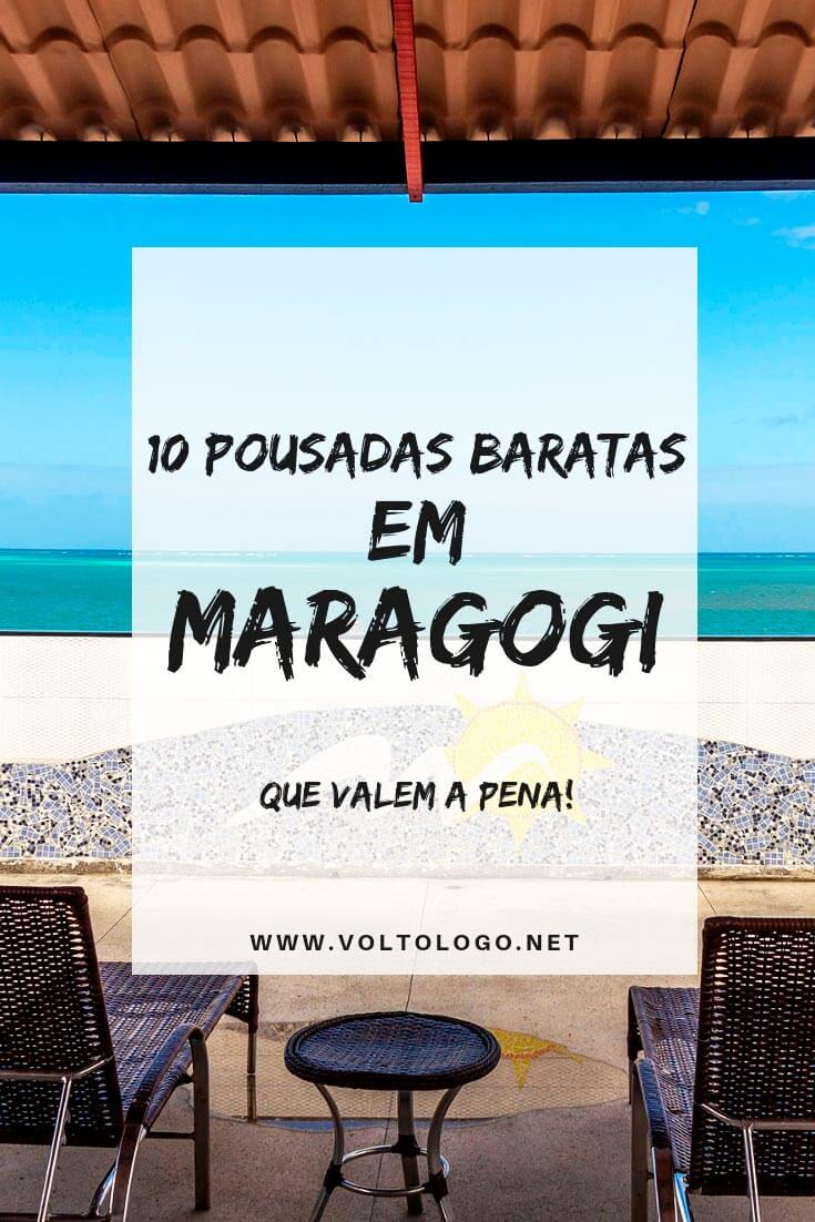 Dicas de pousadas baratas em Maragogi, no estado de Alagoas: lugares baratos para se hospedar e que são bem avaliados!