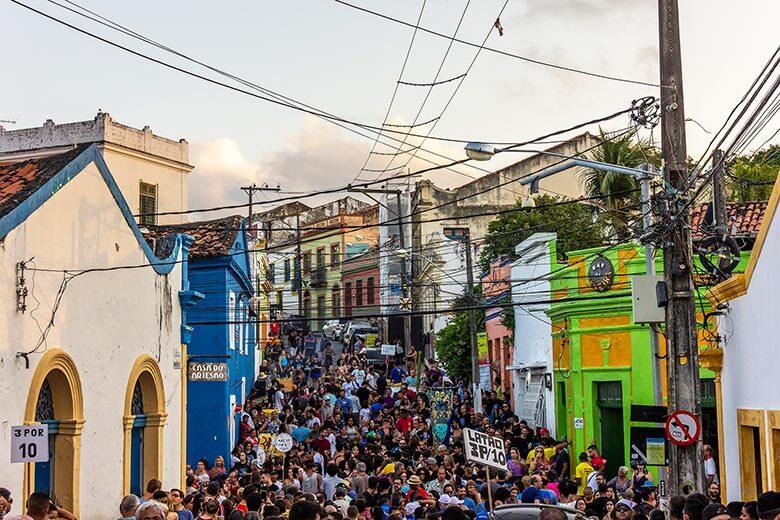 hospedagem em Olinda no Carnaval