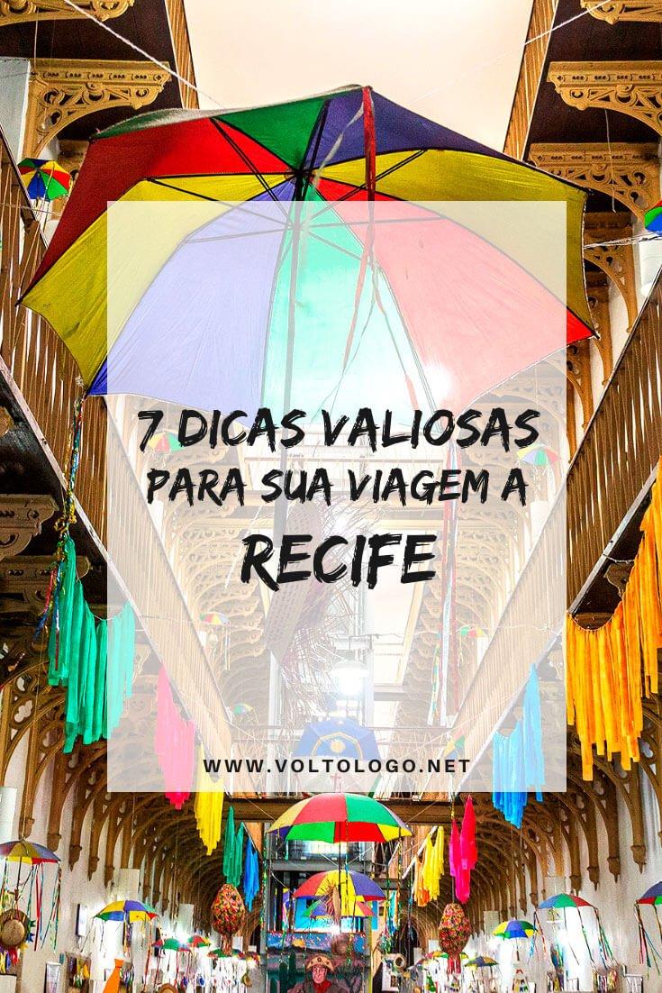 Viagem a Recife, em Pernambuco: Dicas para organizar suas férias. Descubra quando ir, como chegar, onde se hospedar, o que fazer, onde comer e como montar seu roteiro.