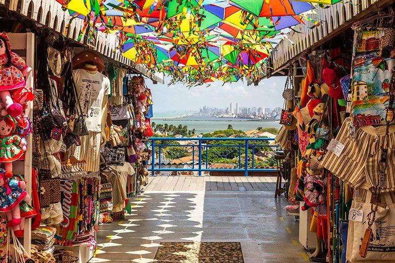 roteiro de viagem a Recife e Olinda