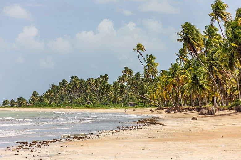 Praia de Lage, em Alagoas