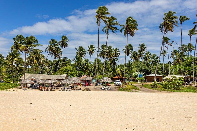 Praia de Barra de Gramame - Paraíba