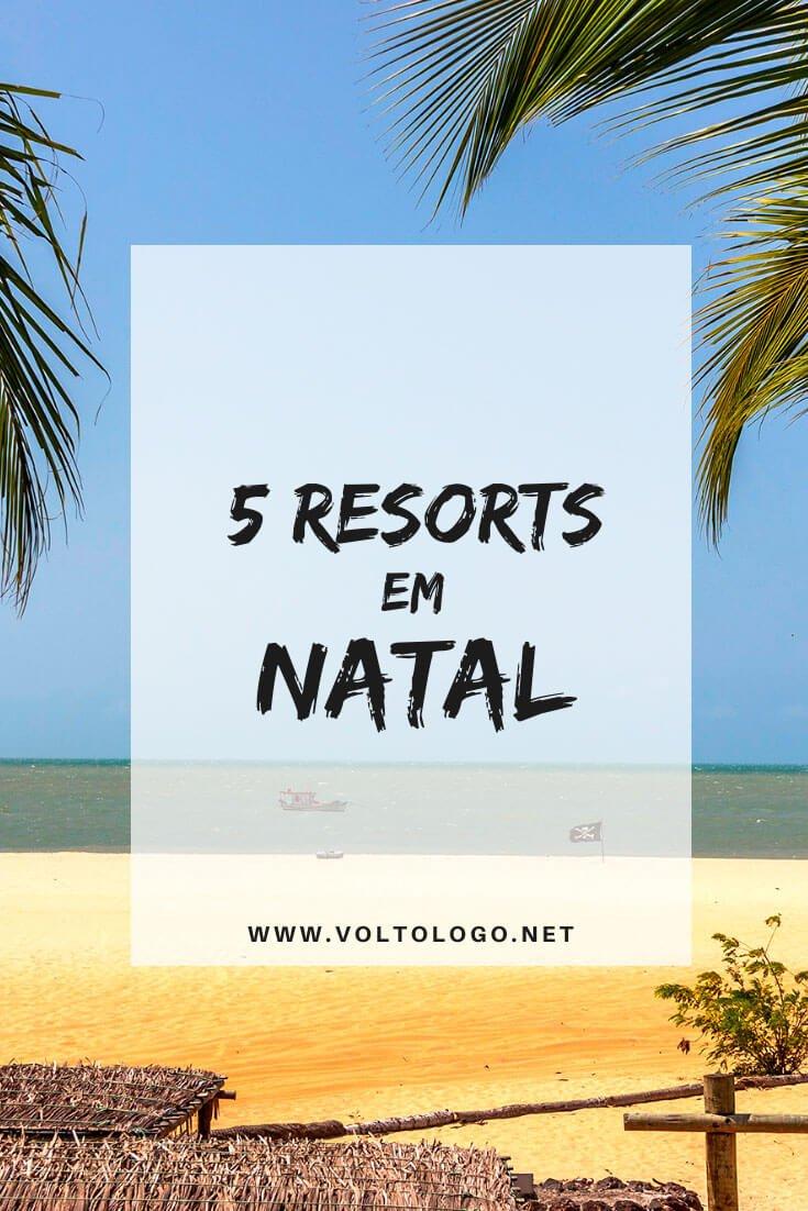 Resorts em Natal, no Rio Grande do Norte: Descubra quais são os melhores resorts para se hospedar durante a sua viagem a capital potiguar. Opções de todos os preços e all inclusive.