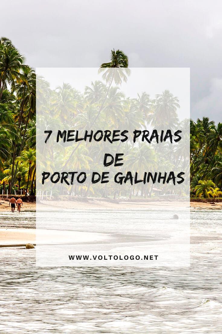 Praias de Porto de Galinhas, em Pernambuco: Descubra quais são as melhores praias do litoral pernambucano para incluir no seu roteiro de viagem a Porto de Galinhas!