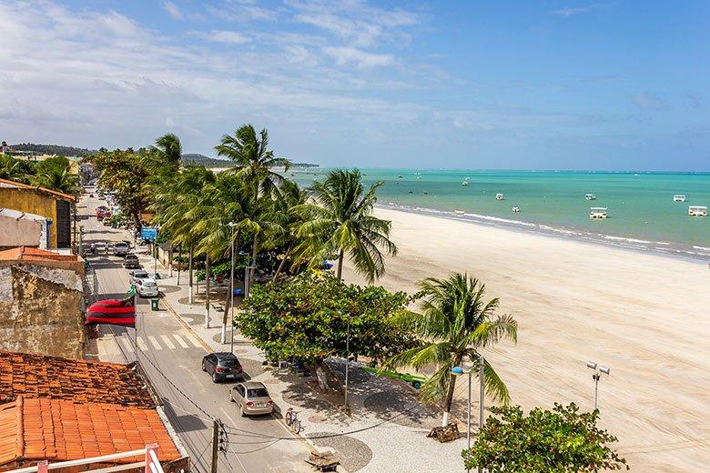 Praia do Centro de Maragogi