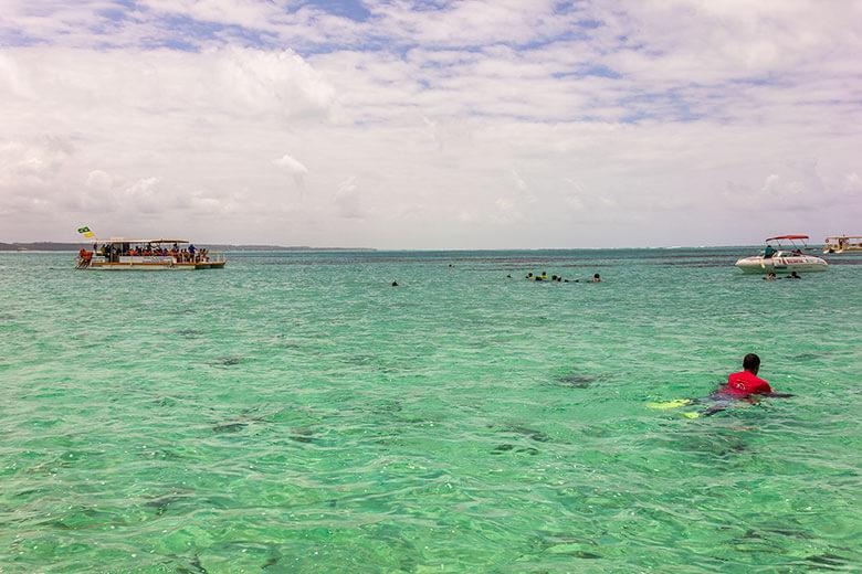 passeio piscinas naturais em Maragogi