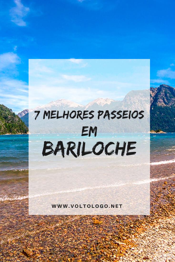 Melhores passeios em Bariloche, na Argentina: Descubra quais são os melhores tours, durante o inverno e verão, para incluir no seu roteiro de viagem.