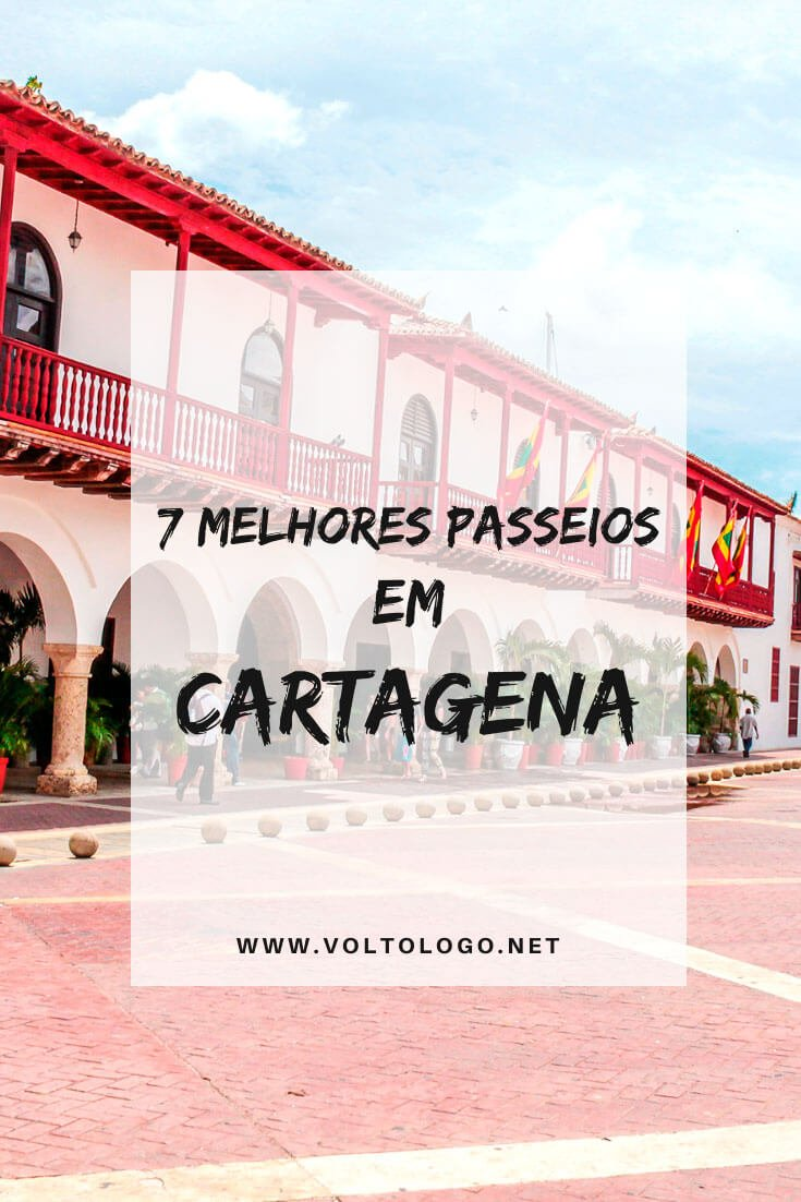 Melhores passeios em Cartagena, na Colômbia: Descubra quais são os melhores tours para incluir na sua viagem.