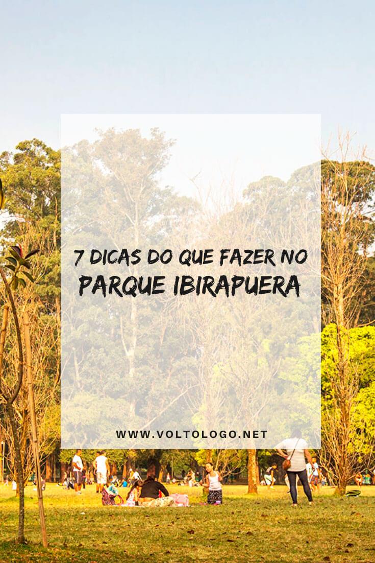 Dicas do que fazer no Parque Ibirapuera, em São Paulo: Melhores atrações para o seu passeio no maior parque de Sampa!