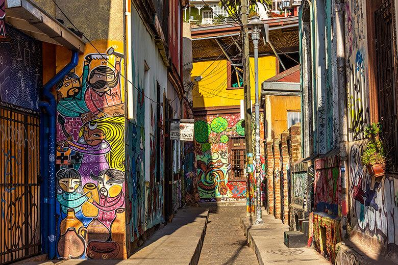 passeio para Valparaíso no Chile