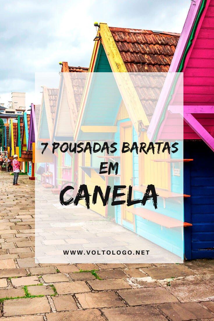 Pousadas baratas em Canela, no Rio Grande do Sul: Dicas de lugares baratos para se hospedar durante sua viagem pela Serra Gaúcha!