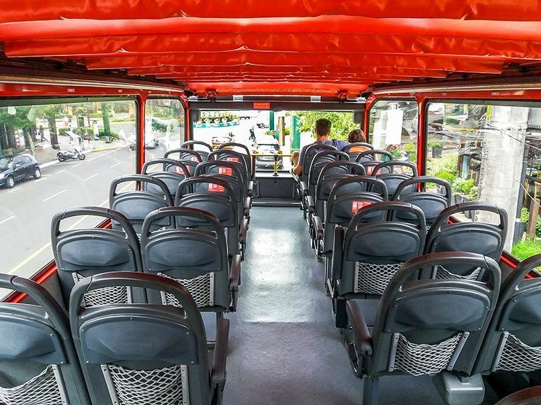 aplicativo do Bus Tour