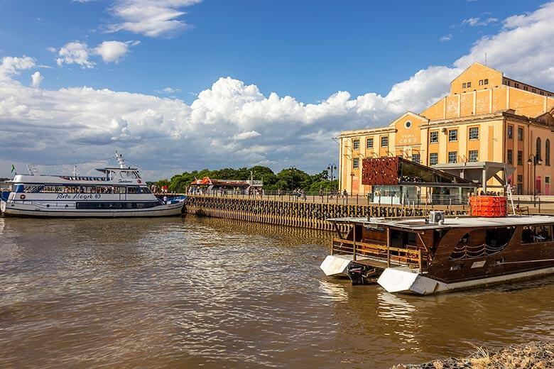 passeio de barco em Porto Alegre - dicas