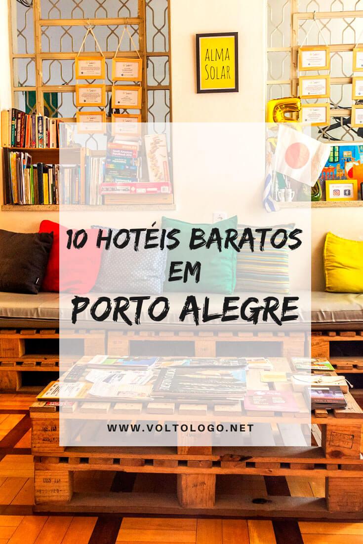 Hotéis baratos em Porto Alegre, no Rio Grande do Sul: Dicas de hospedagem barata para sua viagem pela capital gaúcha!