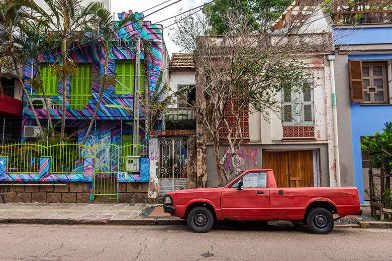 vida noturna em Porto Alegre