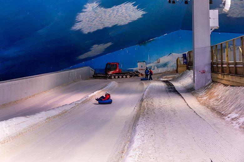 o que fazer no Snowland
