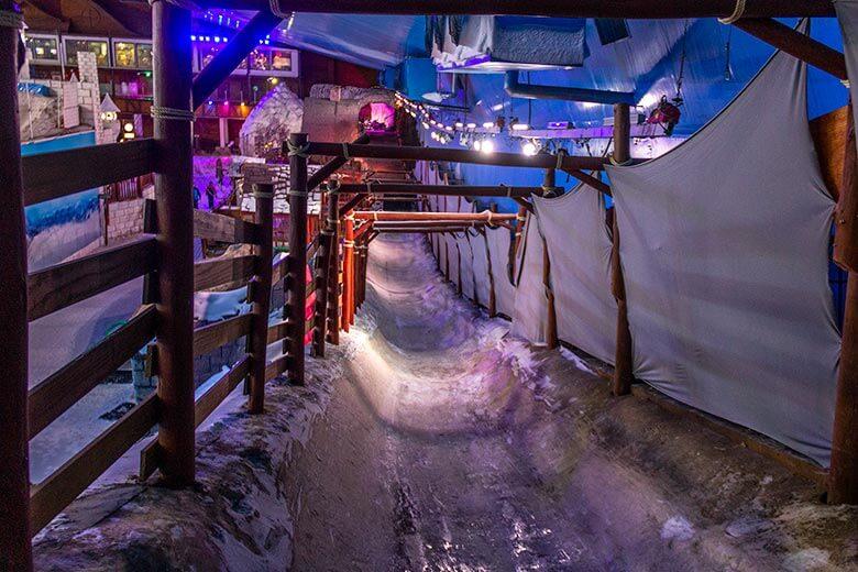 Snowland horário de funcionamento