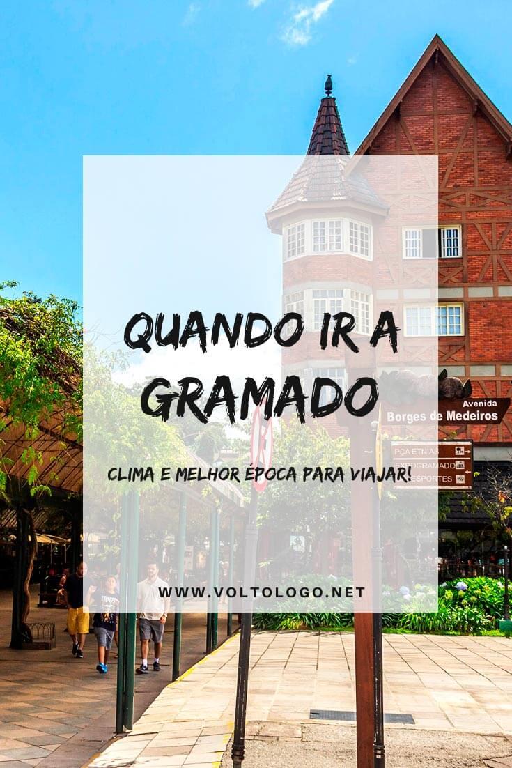 Quando ir a Gramado: Descubra qual a melhor época para viajar, como é o clima durante cada mês do ano, além de quais são os melhores festivais na cidade!