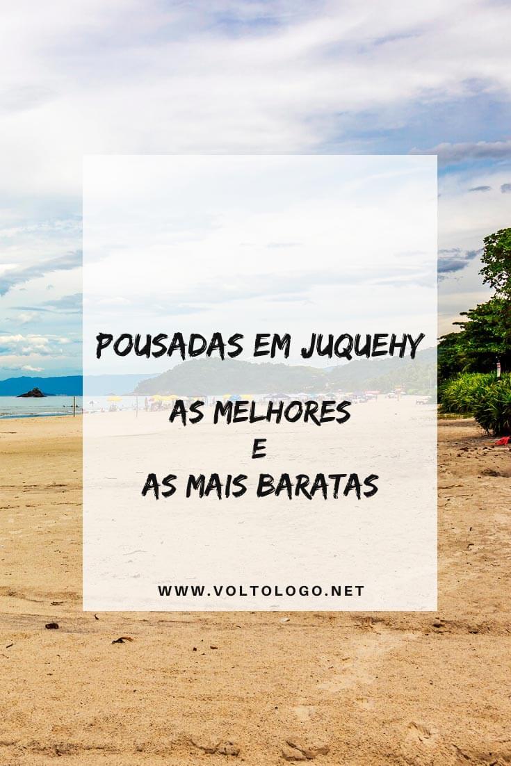 Pousadas em Juquehy, na cidade de São Sebastião: Descubra quais são as melhores acomodações - e as mais baratas - para a sua viagem ao litoral norte de São Paulo.