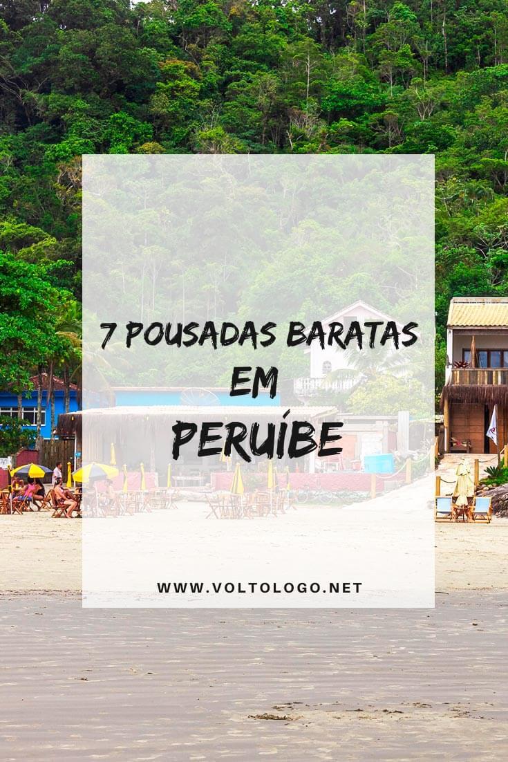 Pousadas baratas em Peruíbe, no litoral de São Paulo: Descubra quais são os hostels, hotéis, pousadas e apartamentos que tem ótimos preços e são bem avaliados.