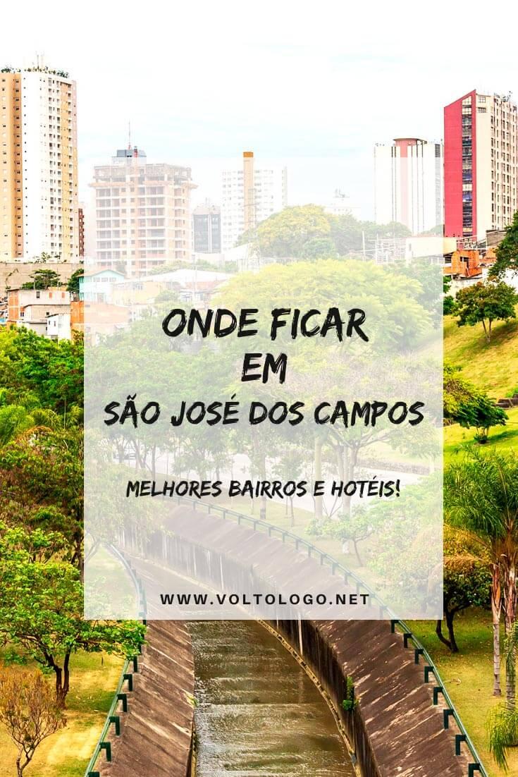 Onde ficar em São José dos Campos: Descubra quais são os melhores bairros para se hospedar, além de hotéis com ótimo custo-benefício para a sua hospedagem na cidade.