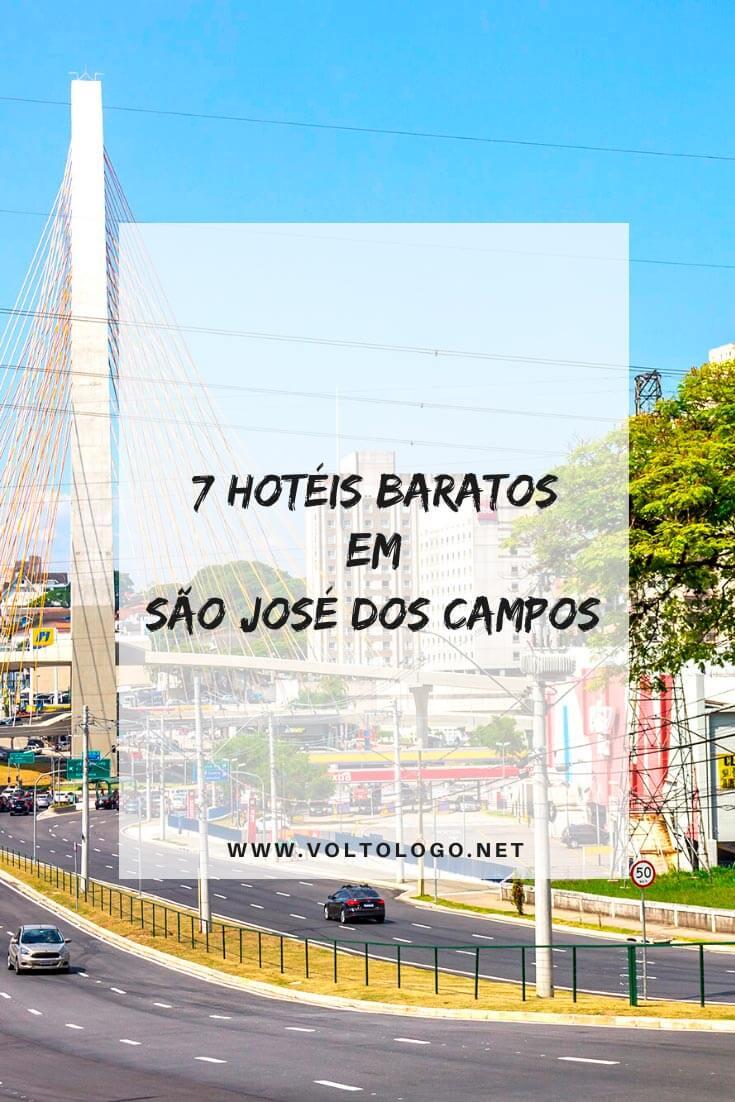 Hotéis baratos em São José dos Campos: Dicas de lugares baratos para se hospedar durante a sua viagem a SJC, em São Paulo.