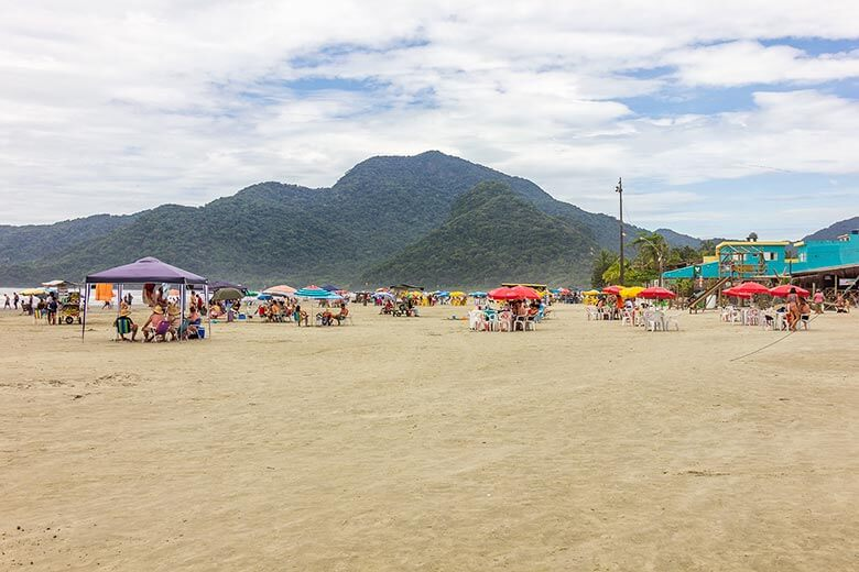 melhores praias para ficar em Peruíbe