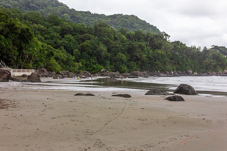 dicas de praias de Peruíbe