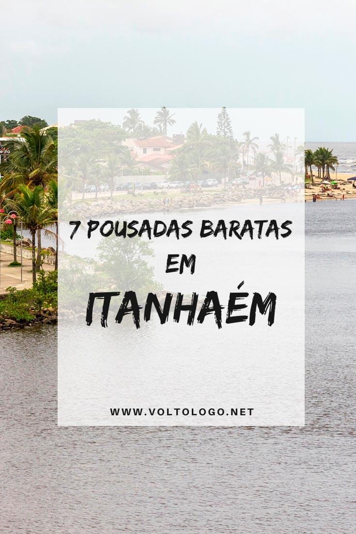 Pousadas baratas em Itanhaém, no litoral sul de São Paulo: Dicas de hospedagens com preços acessíveis e que garantem uma ótima estadia para a sua viagem!