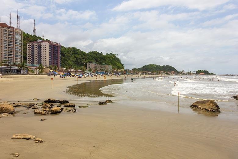 pousada na Praia dos Sonhos - Itanhaém