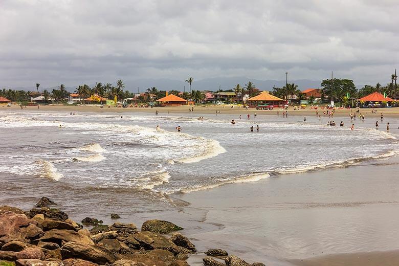 lugares para se hospedar em Itanhaém